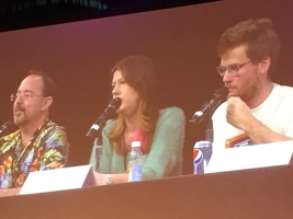 John Scalzi, Maureen Johnson, John Green on adapting novels into alternate media.