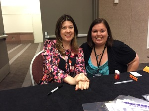 I MET MAUREEN JOHNSON!!!